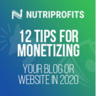 12 Tips for Monetizing Your Blog or Web...